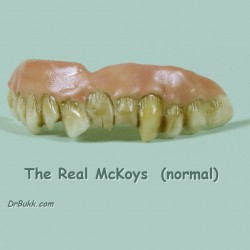 The Real McKoys Teeth