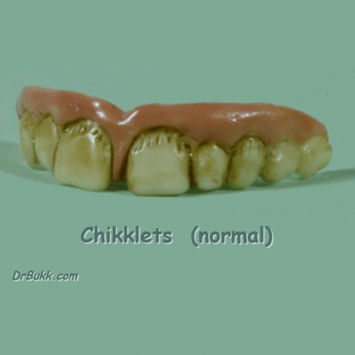 Chikklets Teeth